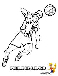 Printable Soccer Player Coloring Pages Cooloringcom Soccer Play Colouring Games Freel L
