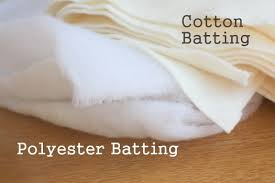 Batting and Backing 101 - Diary of a Quilter - a quilt blog & Fiber defines what the batting is made of. The three most common types of quilt  batting are Polyester, 100% Cotton, and Cotton/Poly Blend and each has it's  ... Adamdwight.com