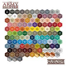 Review The Army Painter Warpaints 1 Acrylic Paints