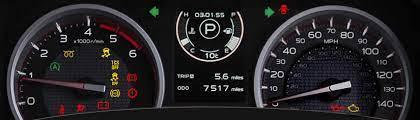 isuzu d max dashboard warning lights