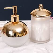medium size of bathroom accessories contemporary frosted glass and gold plated bathroom set by dibor