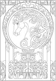 Small Picture Creative Haven Art Nouveau Designs Collection Coloring Book