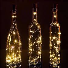 wine bottle lighting. bulk pack 3 20 warm white led cork wine bottle lamp fairy string light stopper 38inch lighting