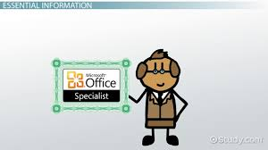 Microsoft Office Training Certificate Microsoft Office Specialist How Do I Become Certified