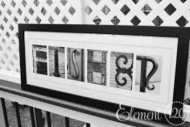 letter alphabet photography last name modern 10x26 frame for letter art frames