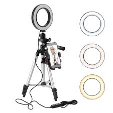 Ring Light For Iphone Xr Amazon Com Dokfin Ring Light With Stand And Phone Holder