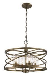 bel air lighting metal caged 4 light chandelier
