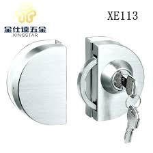 double pocket door lock double door single key stainless steel glass door lock double door lock double pocket door lock