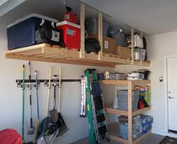build your own overhead garage storage