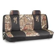 browning seat cover universal mossy oak break up infinity bench seat