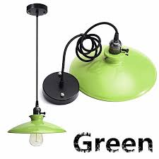 e27 vintage ceiling rose pendant lamp light bulb holder hanging fixture socket