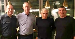 Political bombshell as Gantz, Lapid join forces to replace Netanyahu ...
