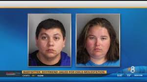 San Diego Babysitter Babysitter And Boyfriend Jailed For Child Molestation Cbs News 8