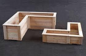 cedar garden box. Cedar Planter Box Beauty Garden