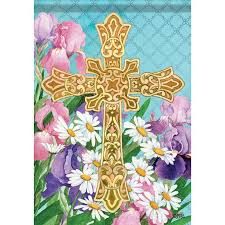 49 best easter house and garden flag images on religious garden flags
