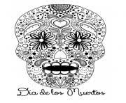 Small Picture SUGAR SKULL Coloring Pages Free Printable