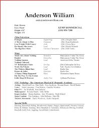 Best Of Acting Resume Examples Npfg Online