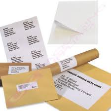 labels 6 per page a4 sheets of plain white address labels 6 per page cheap offer