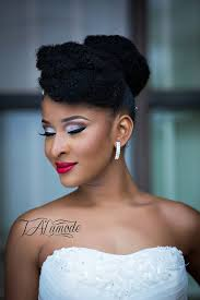nigerian bridal makeup natural hair photos 0022