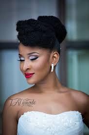 nigerian bridal makeup natural hair photos 0022