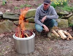the oddly addictive crazy russian er aka taras kul takes a look at the stainless steel solo stove bonfire a small but expensive portable fire pit