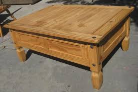 rustic unfinished pine coffee table bed and shower bed and shower