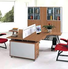 double desks for home office. Home Office Furniture For Two Double Desks Magnificent 2 Person Desk Sided Custom