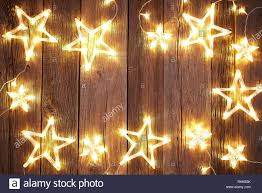 Weihnachten Hintergrund Postkarte Vintage Sterne Auf Holz