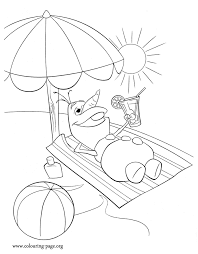 Small Picture Frozen Olaf dreaming coloring page