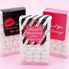 bachelorette personalized tic tacs favors