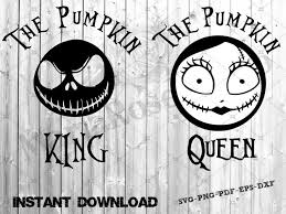Check out our nightmare before christmas svg bundle selection for the very best in unique or custom, handmade pieces from our digital shops. Svg Nightmare Before Christmas S V G The Pumpkin King And The Etsy