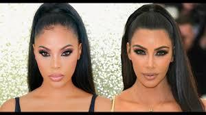 kim kardashian met gala 2018 makeup tutorial