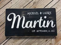 last name wooden sign wood wall decor family name wedding gift personalized wall art personalized shower gift established date on personalized wall art wood with last name wooden sign wood wall decor family name wedding gift