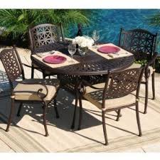 Cast Aluminum Patio Furniture Sets Foter