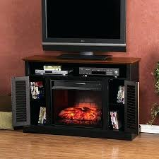 black fireplace tv stand fireplace stand black point in rustic stand electric fireplace in black electric
