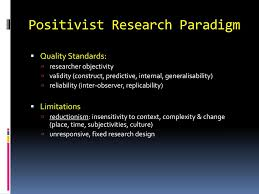 Fixed Research Design Ppt Educational Research Key Paradigms Powerpoint