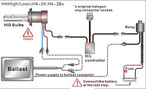 h4 halogen bulb wiring diagram schematics and wiring diagrams headlights taillights