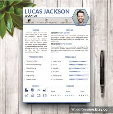 creative professional resume template lucas jackson mockup template resume
