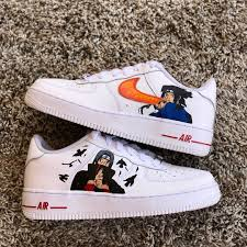 Behind The Scenes By mwavycustoms | Anime canvas shoes, Naruto shoes,  Custom shoes diy