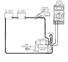starting motor delco 50 mt no load test caterpillar engines illustration 1 g00713059