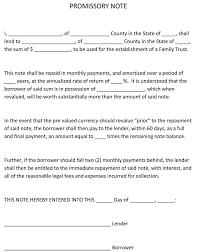 Promissory Note Templates Word 38 Free Promissory Note Templates Forms Word Pdf