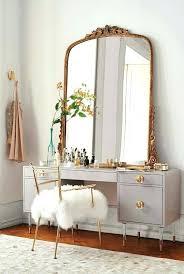 antique makeup vanity for furniture rustic set bedroom vintage table