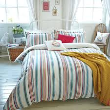 yellow stripe duvet set yellow stripe cotton fabric bath stripe bedding by joules yellow and blue