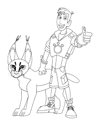 Small Picture Wild kratts coloring pages martin and cougar ColoringStar
