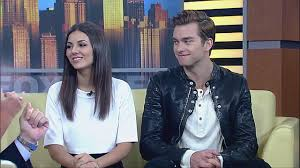 Real-life Couple Victoria Justice and Pierson Fode Star in Modern ...
