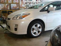 Toyota Matrix 16x6.5 wheels installed   PriusChat