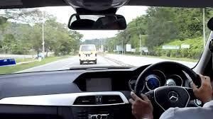 2013 Mercedes Benz C250 Avantgarde w204 Test Drive Malaysia - YouTube