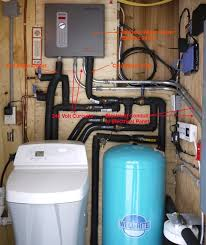 plan placement of tankless water heater consider access to unit ease of plumbing distance to end use longer more lag time for hot water and ease of