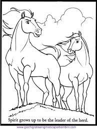 Disegni Da Colorare Per Bambini Spirit Cavallo Selvaggio Con