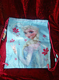 new disney frozen elsa swimming bag gym
